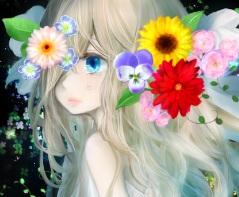 硝子の花「玻璃之花」